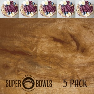5 Pack Acai Bowls